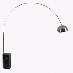 Marble Arched Style Floor Lamp