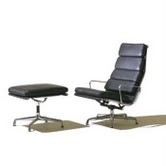 Soft Pad Style Lounge Chair & Stool