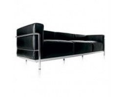 Le Corbusier Style Grand 3 Seat Sofa