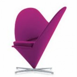 Panton Style Heart Chair