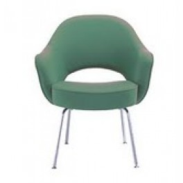 Saarinen Style Chair with Arms