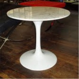 Tulip Style Base with Marble Top