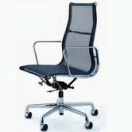 Eames Style High Back Mesh Chair
