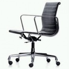 Eames Style Ribbed Chair