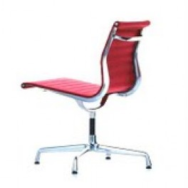 Eames Style Ribbed Chair on Glides