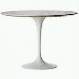 Tulip Style Table Marble 90